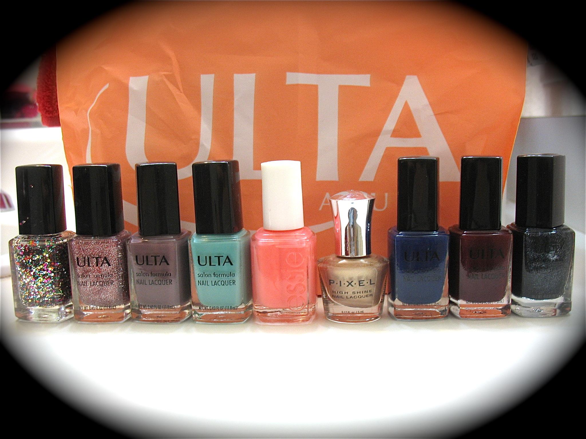 Ulta Nail Polish Haul | RUNWAY OR THE HIGHWAY fashion blog
